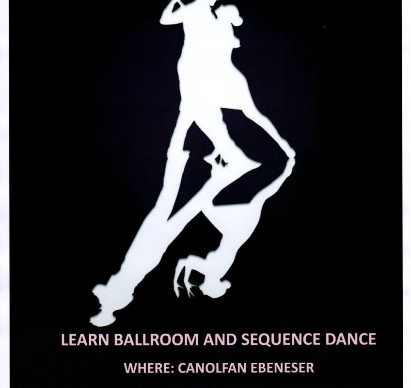 Ballroom dancing at Canolfan Ebeneser