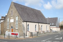 The exterior of Canolfan Ebeneser